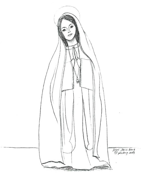 570x727 Coloring Pages Of Mother Mary Coloring Pages Virgin Coloring Pages