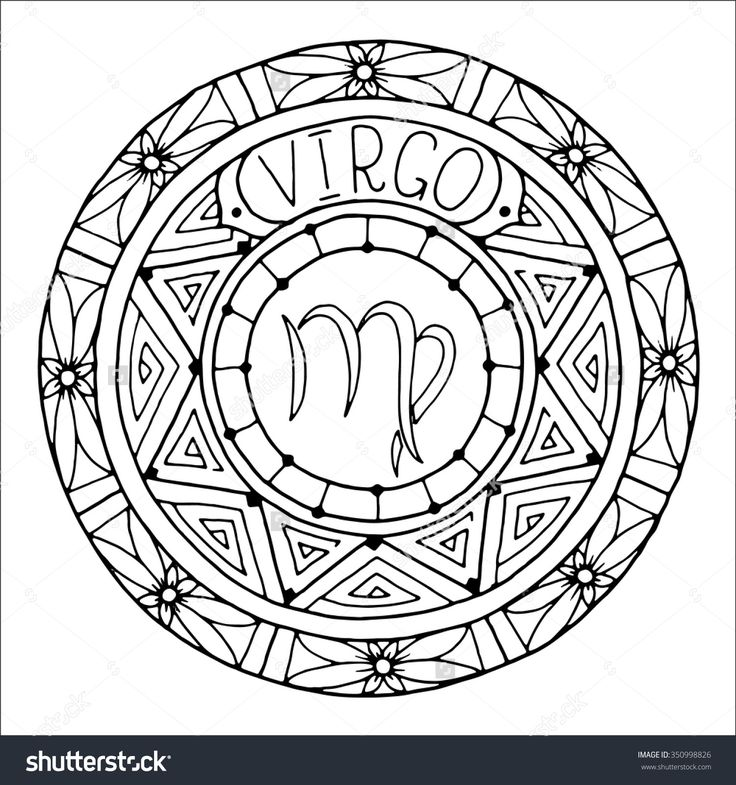 Virgo Coloring Pages