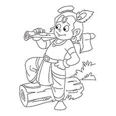 Vishnu Coloring Pages