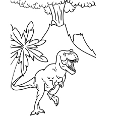 230x230 Top Free Printable Volcano Coloring Pages Online