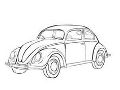 236x177 Vw Bug String Art, Scrapbook Templates