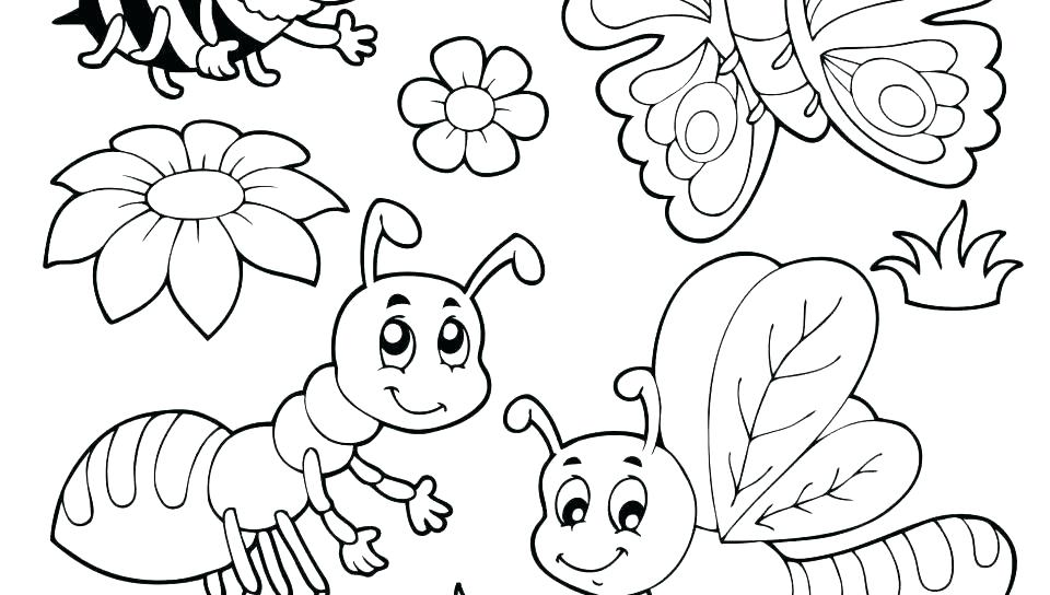 960x544 Bug Coloring Pages Love Bug Coloring Pages Potato Coloring Pages