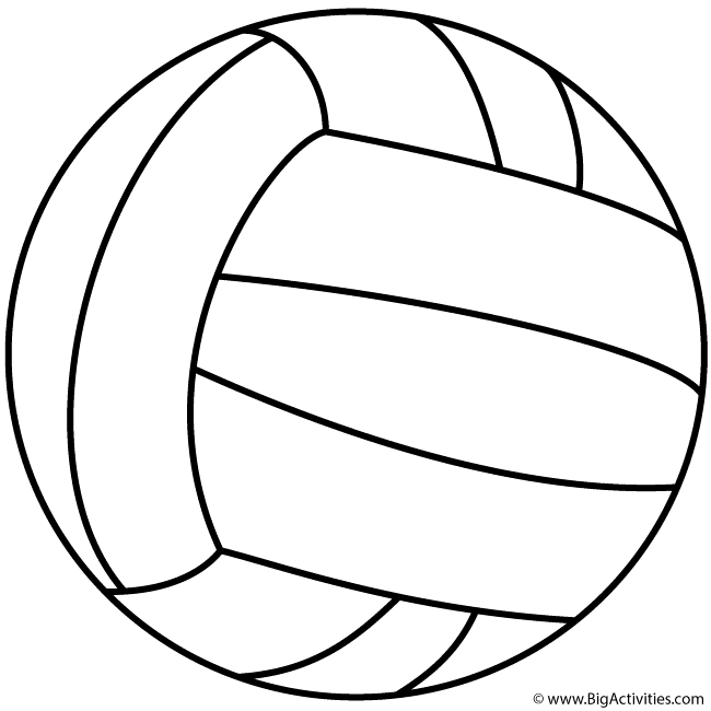 650x650 Volleyball