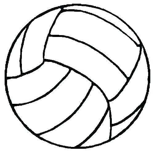 500x500 Volleyball Coloring Pages I Love Volleyball Coloring Pages