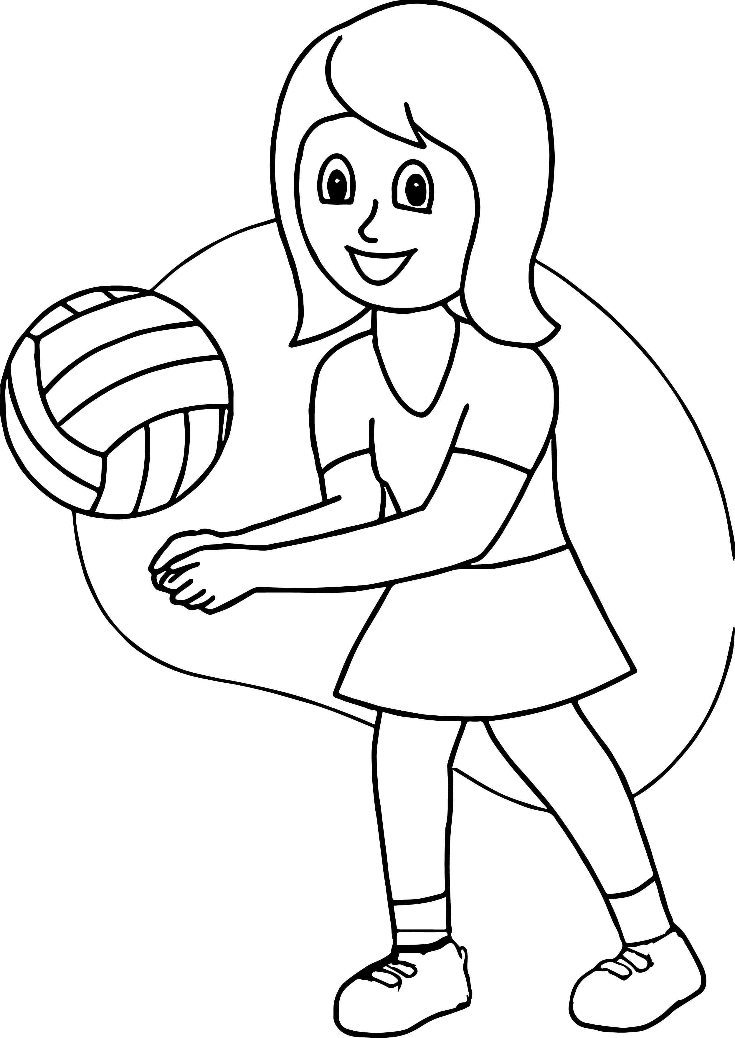 2495x3523 Volleyball Coloring Pages Unique Volleyball Set Coloring Pages