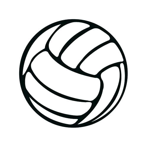 500x500 Volleyball Coloring Pages Volleyball Coloring Pages To Print