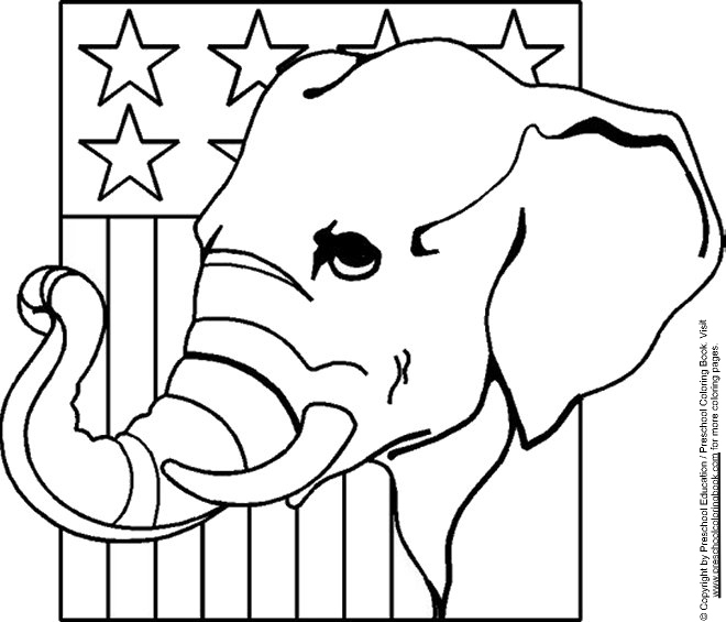Voting Coloring Pages