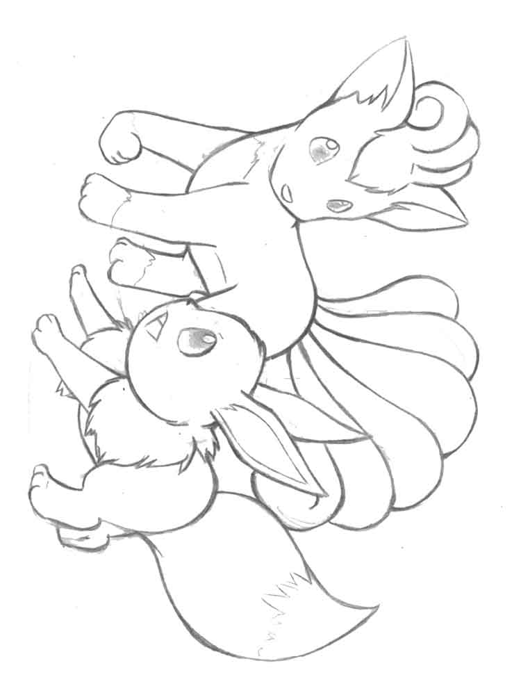 The Best Free Vulpix Coloring Page Images Download From 118 Free