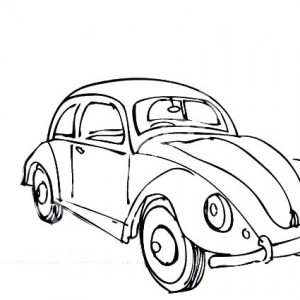 300x300 Convertible Vw Beetle Car Coloring Pages Best Place To Color