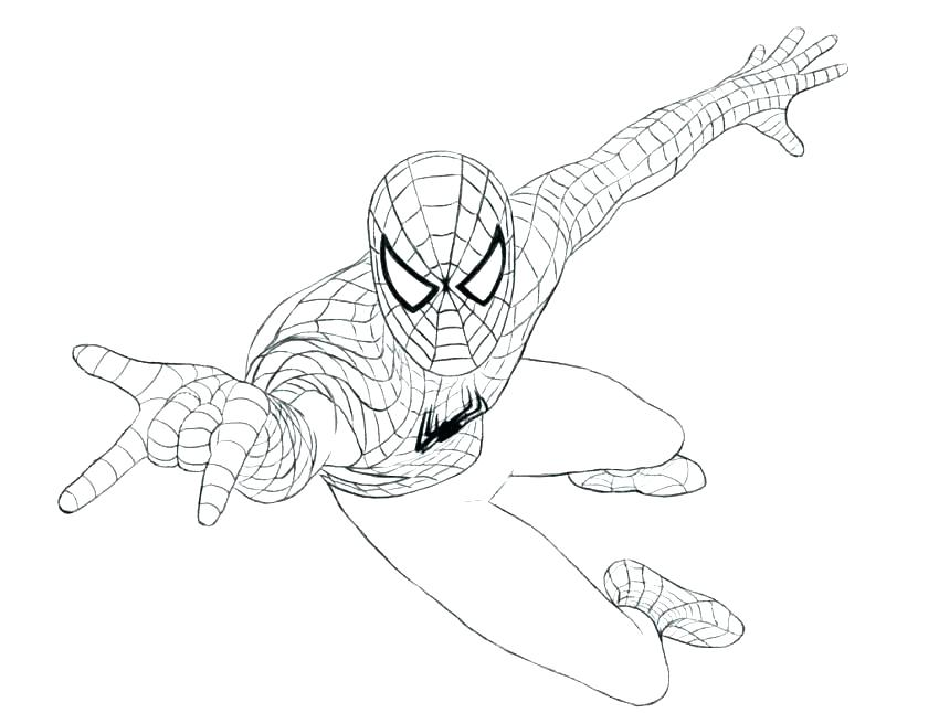 850x646 Spider Color Page Wacky Spider Coloring Page Spider Coloring Pages