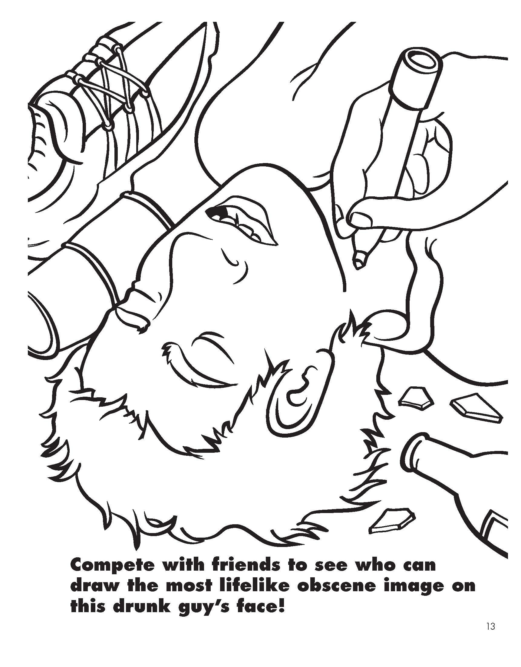 1721x2201 Amazon Com Coloring For Grown Ups College Companion At Wacky Face