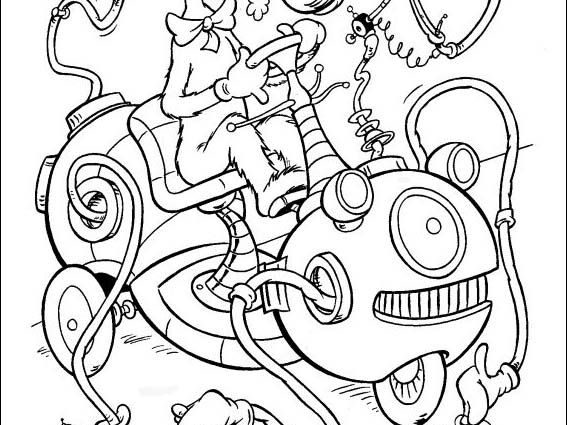 567x425 Wacky Wednesday Dr Seuss Coloring Page Dr Seuss Coloring Pages