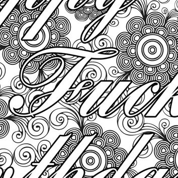 354x354 Twt Waffle Coloring Page The Swearing From Pictographique