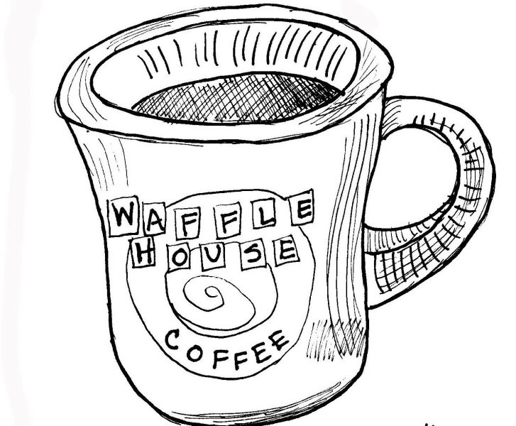727x600 Waffle Coloring Page Breakfast Waffles Coloring Pages Coloring Pages