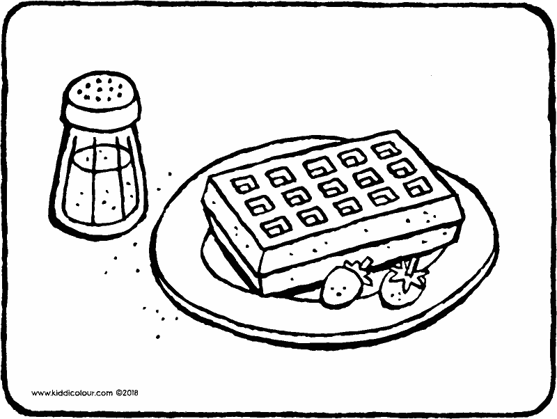 800x602 Bakery Colouring Pages
