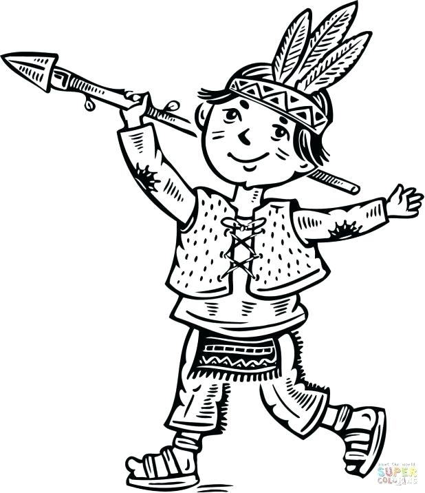 618x716 Wagon Coloring Page Cowboy Hat With An Arrow Going Through It