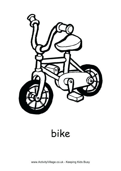 460x650 Wagon Colouring Page Bike Colouring Page Wagon Wheel Coloring Page