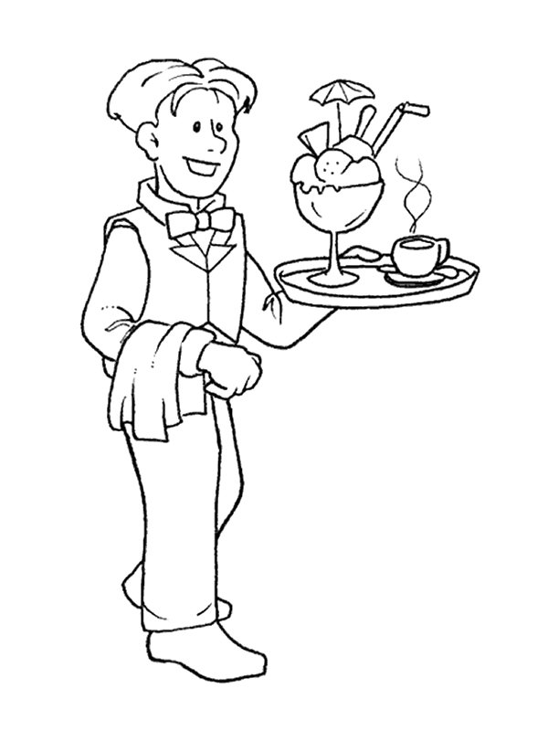 600x800 Kids N Coloring Pages Of Professions