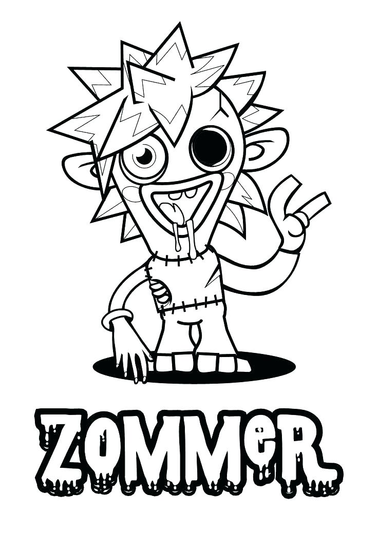 736x1041 Moshi Monster Coloring Pages Monster Coloring Pages Monster