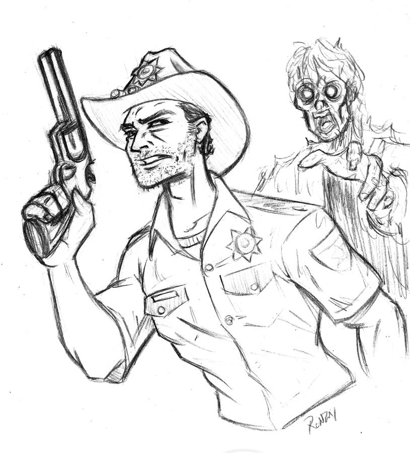 814x900 The Walking Dead
