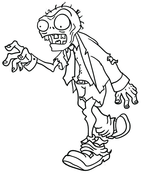 600x776 Zombie Coloring Pages Image Of Walking Dead Zombie Coloring Pages