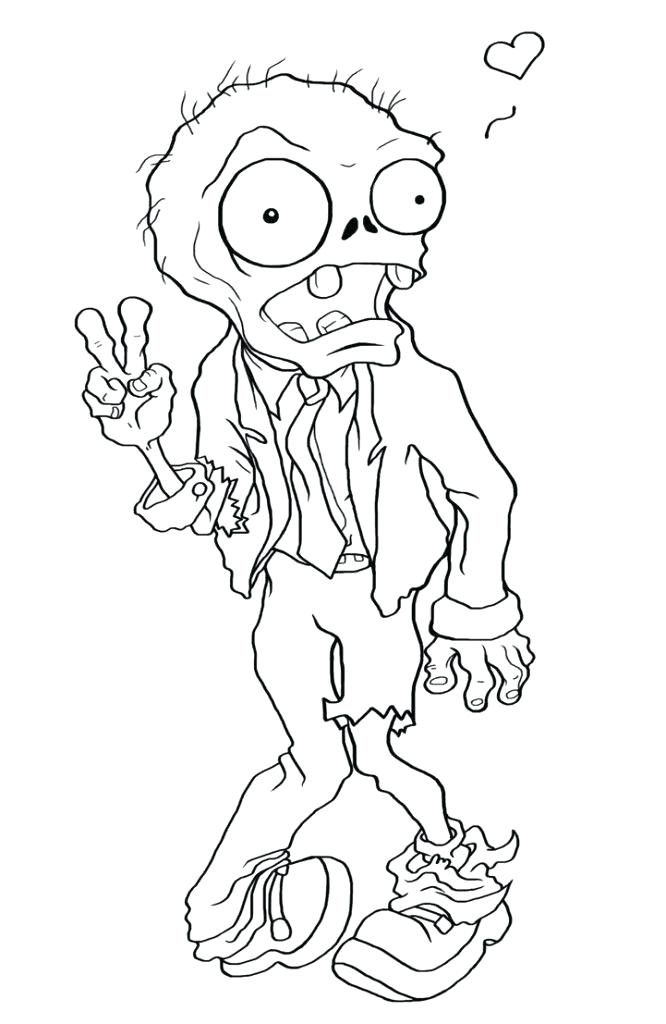 666x1024 Zombie Coloring Book Print Zombie Coloring Page Crayola Zombie