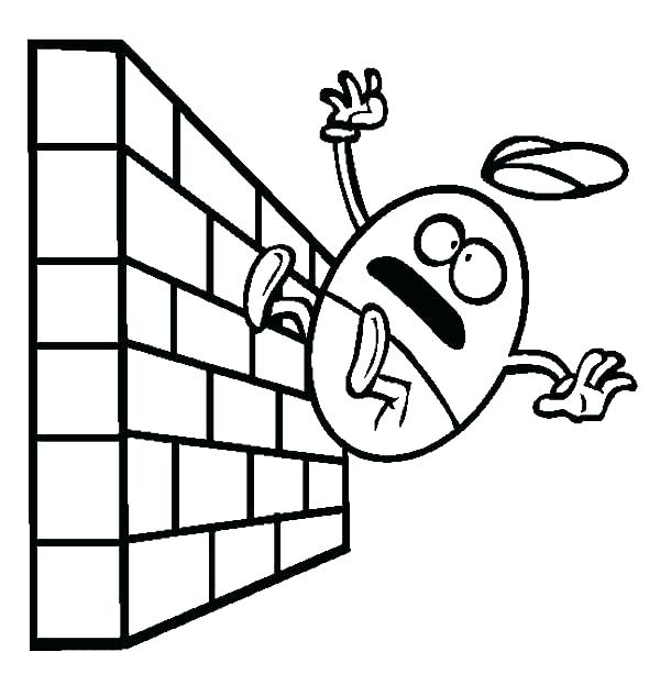 600x613 Humpty Dumpty Coloring Coloring Pages Coloring Page Falling
