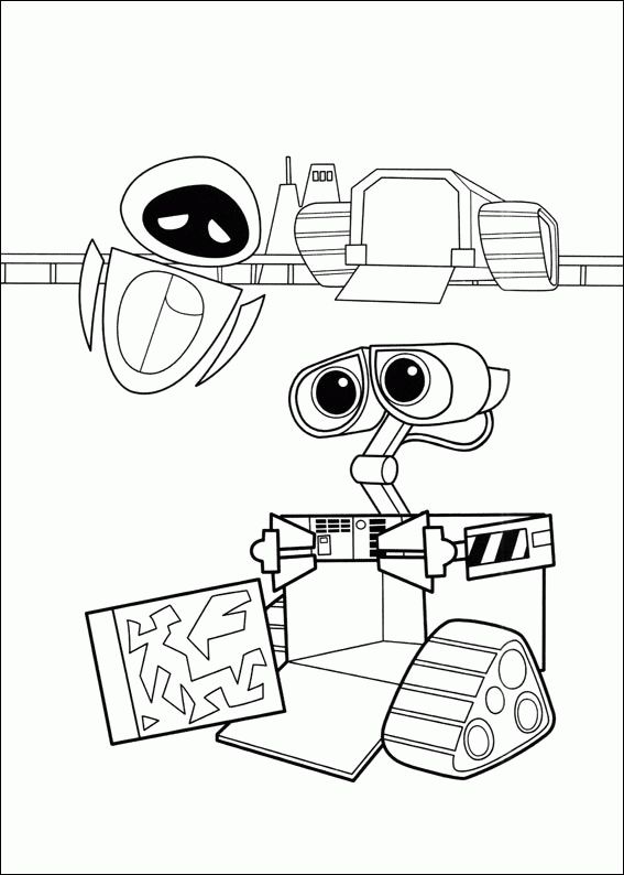 567x794 Best Disney Wall E Coloring Pages Disney Images