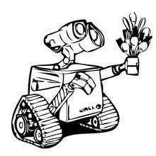 220x220 Wall E Coloring Pages