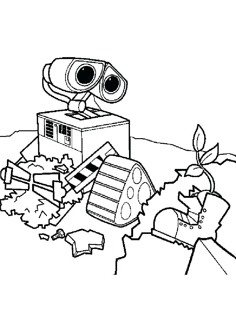 750x1000 Wall E Coloring Pages Coloring Ideas Pro