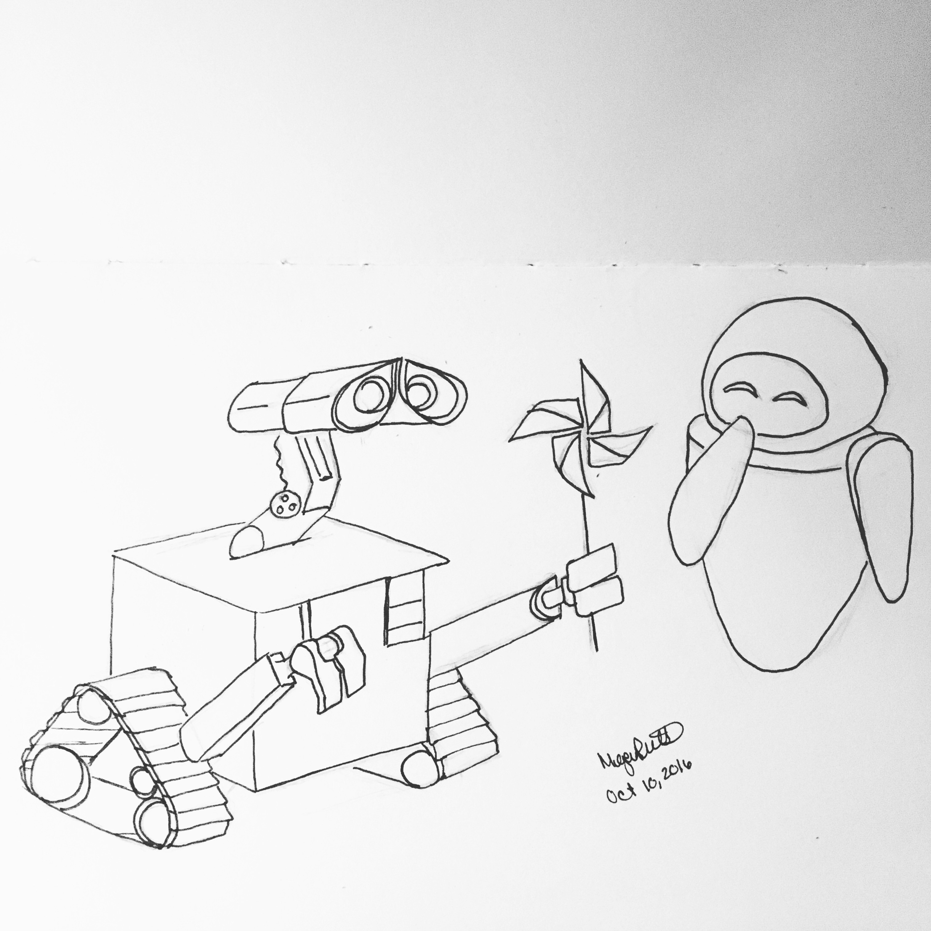 3024x3024 Printable Wall E And Eve Coloring Pages For Kids Lovely Creative