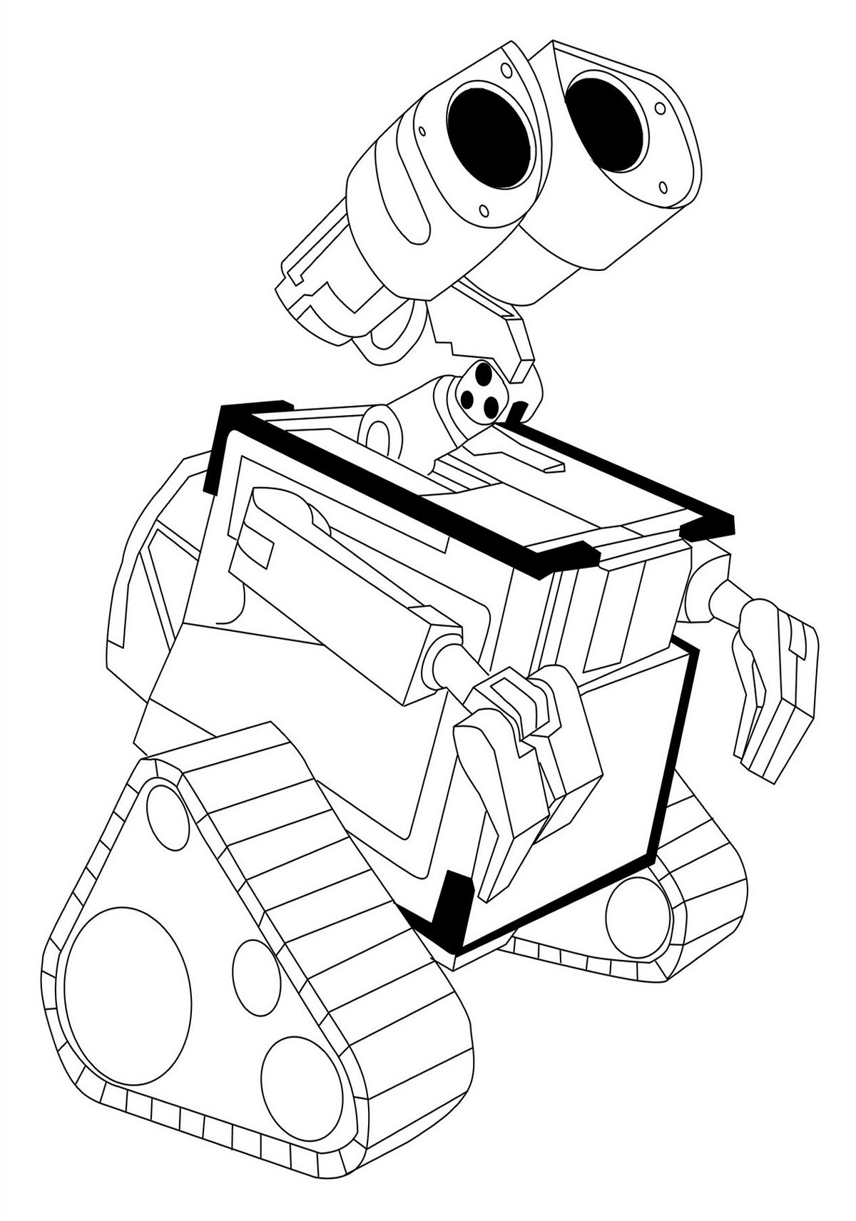 1200x1712 Wall E And Eve Coloring Pages Hellokids Com