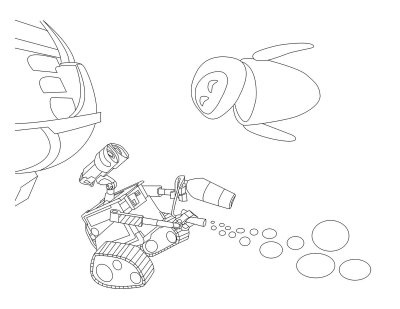 400x309 Best Disney Wall E Coloring Pages Disney Images