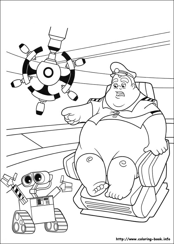 567x794 Wall E Coloring Pages On Coloring
