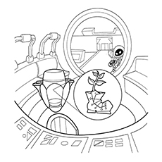 230x230 Cute Free Printable Wall E Coloring Pages Online