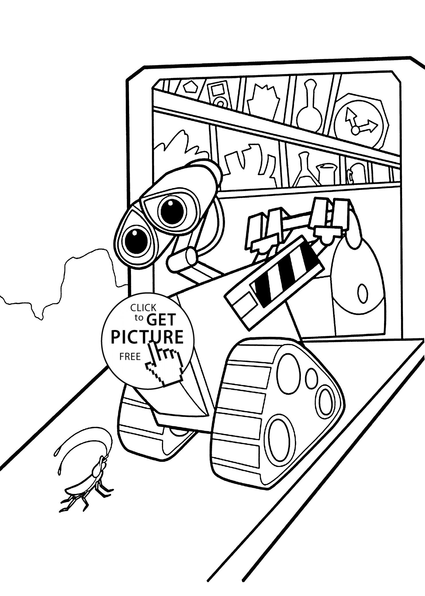 1483x2079 Printable Wall E And Eve Coloring Pages For Kids New Wall E