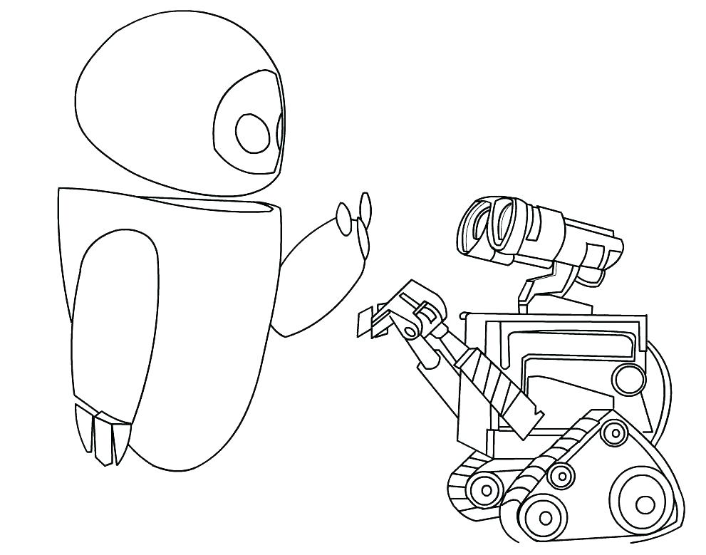 991x779 Wall E Coloring Page E Coloring Page Wall E Coloring Page Free