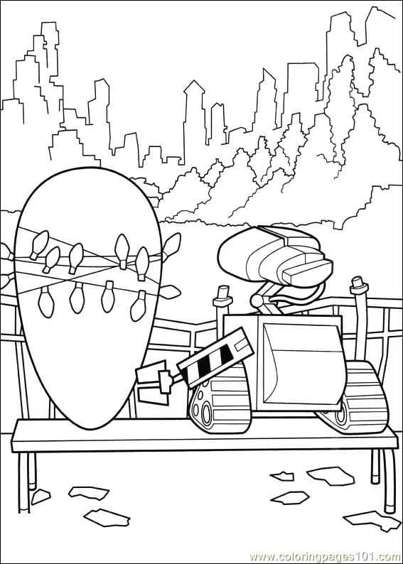 567x794 Wall E Coloring Page Free Wall E Coloring Pages Wall E Coloring