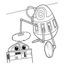 Wallee Coloring Pages