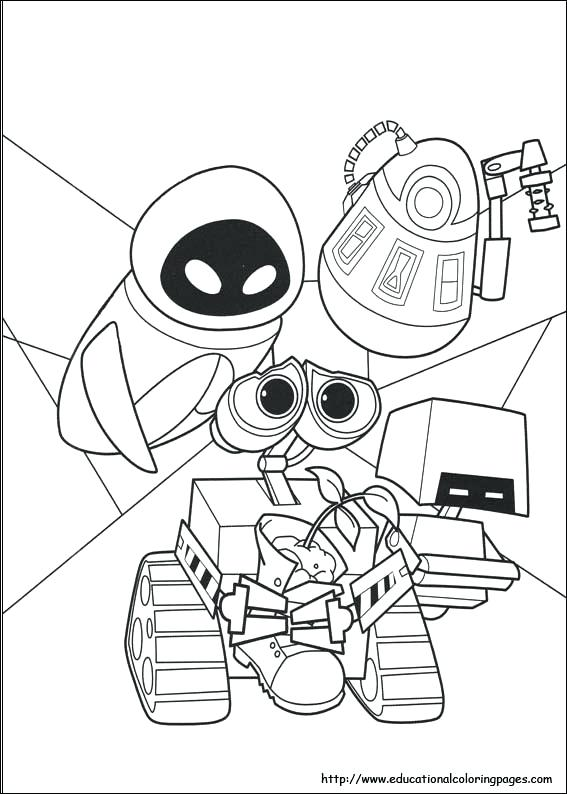 567x794 Walle Coloring Pages Wall E Coloring Pages Educational Fun Kids