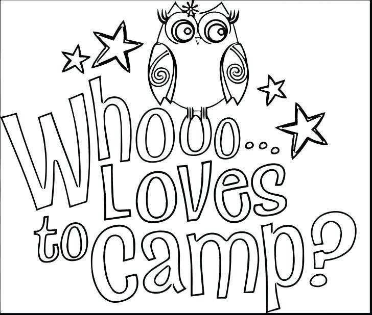 728x618 Camping Coloring Pages For Adults Kids Coloring Camping Coloring