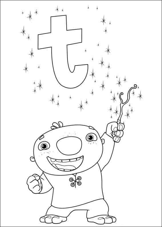 567x794 New Wallykazam Coloring Pages