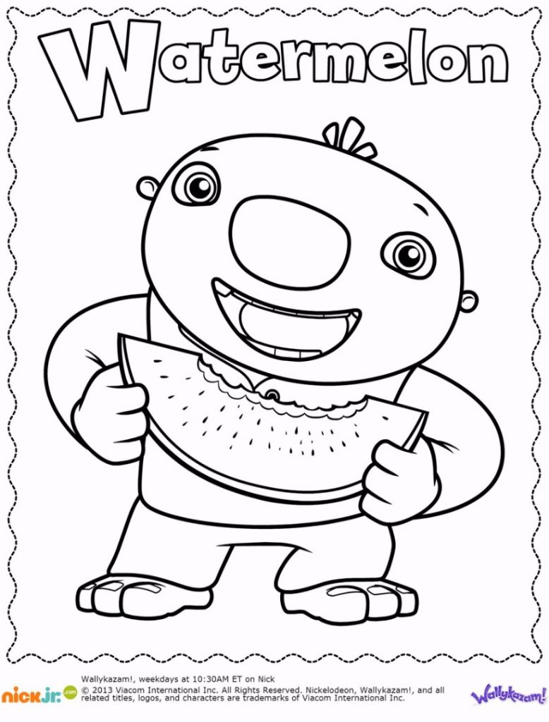 778x1024 Wallykazam Coloring Pages