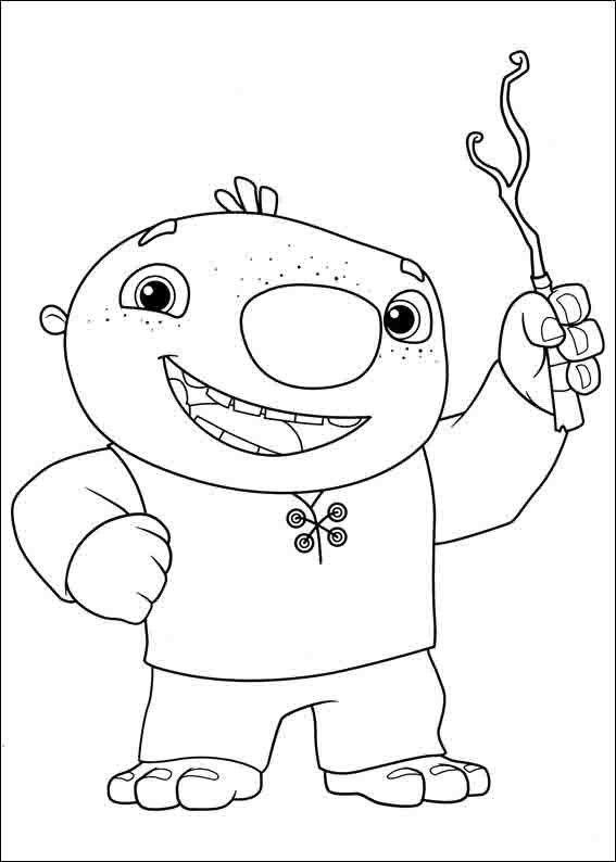 567x794 Wallykazam Coloring Pages Birthday Ideas