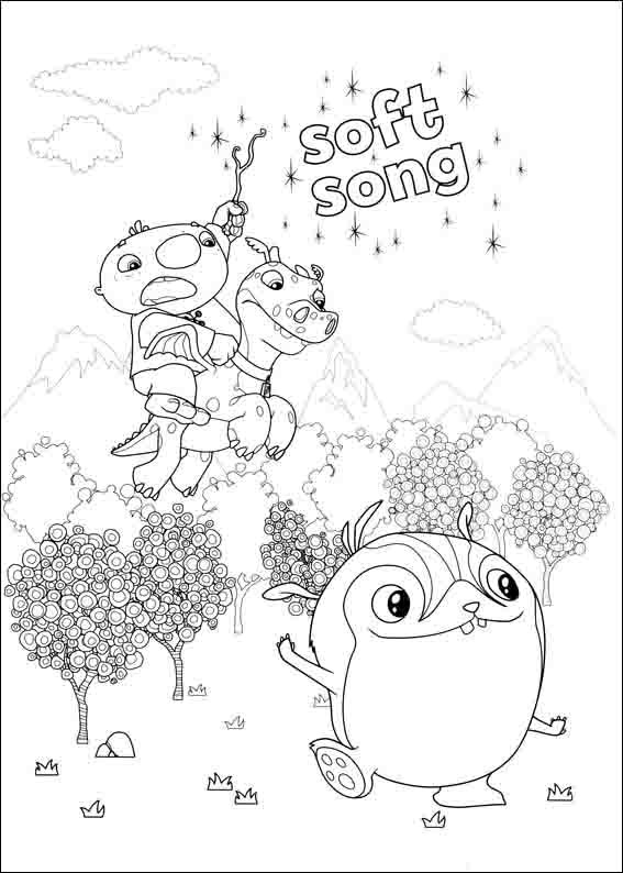 567x794 Wallykazam Coloring Pages