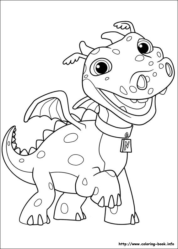 567x794 Wallykazam Coloring Pages Printable
