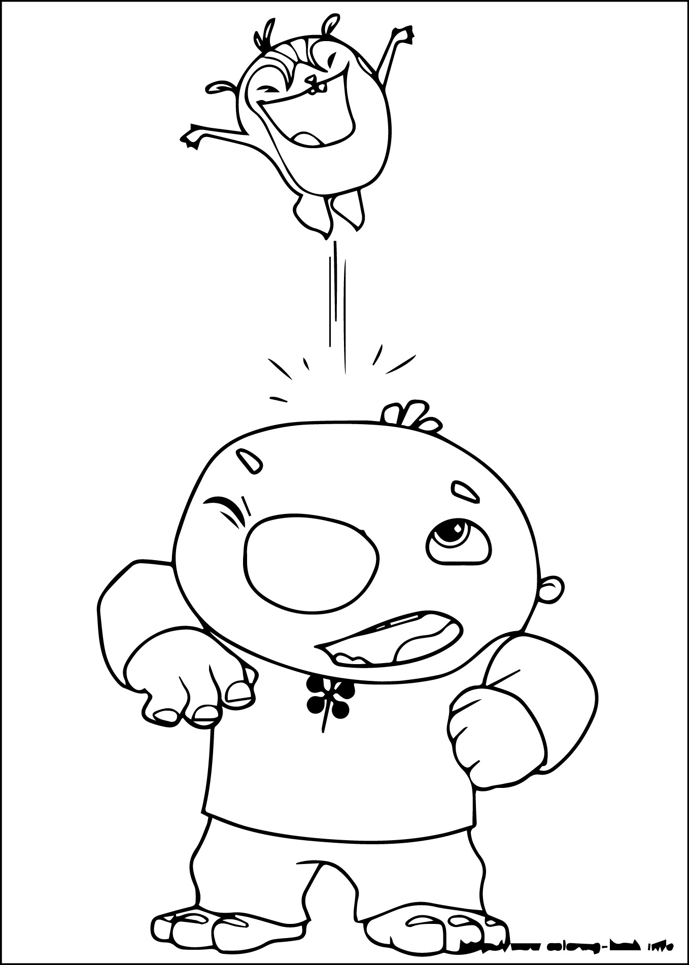 1358x1902 Wallykazam Coloring Pages Download And Print For Free