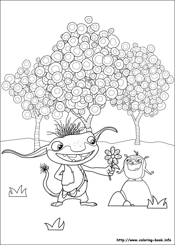 567x794 Wallykazam Coloring Pages On Coloring