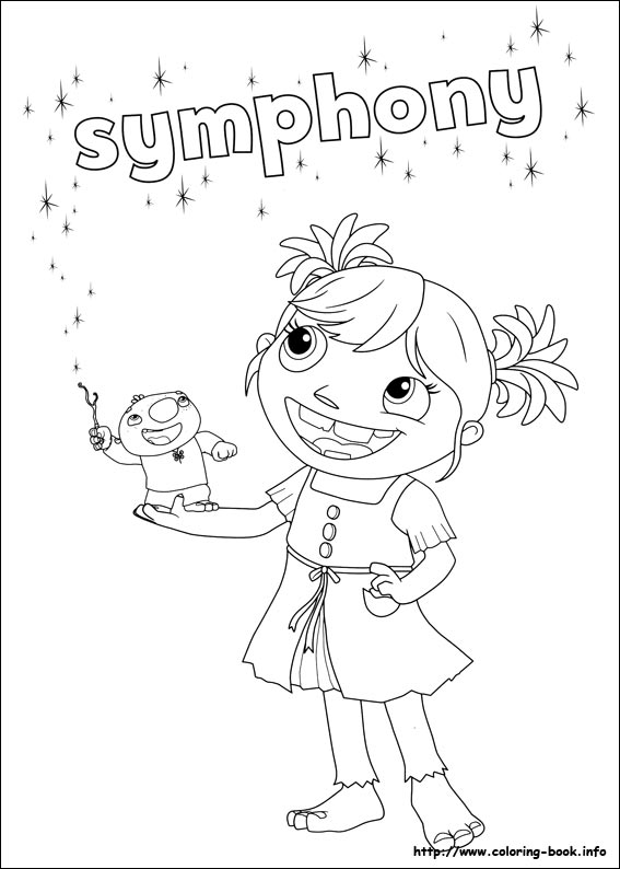 567x794 Wallykazam Coloring Picture