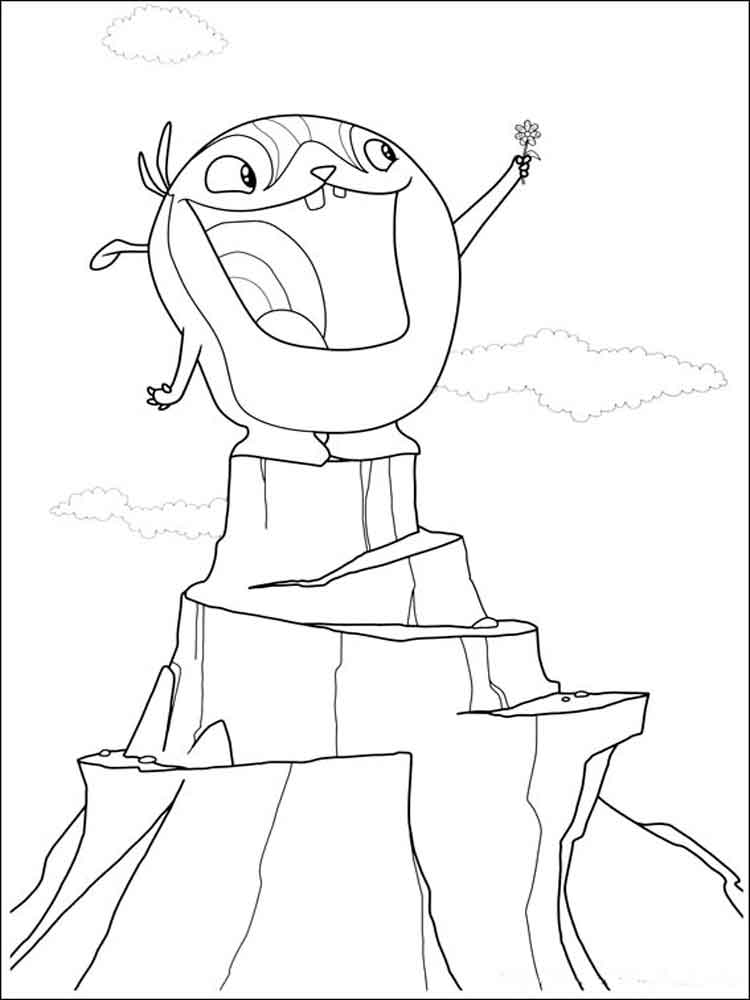 750x1000 Wallykazam Coloring Pages